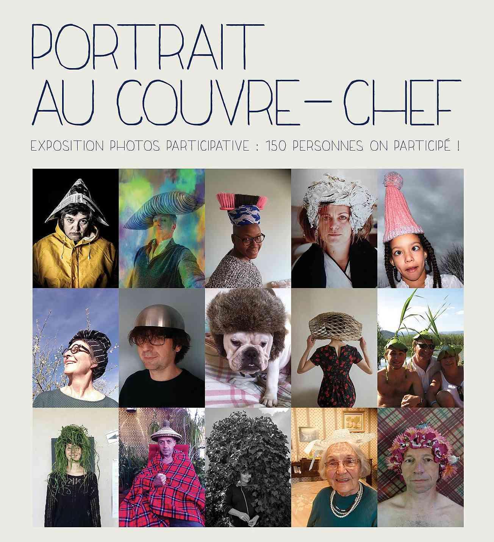 Collage et vernissage «Portrait au couvre-chef»