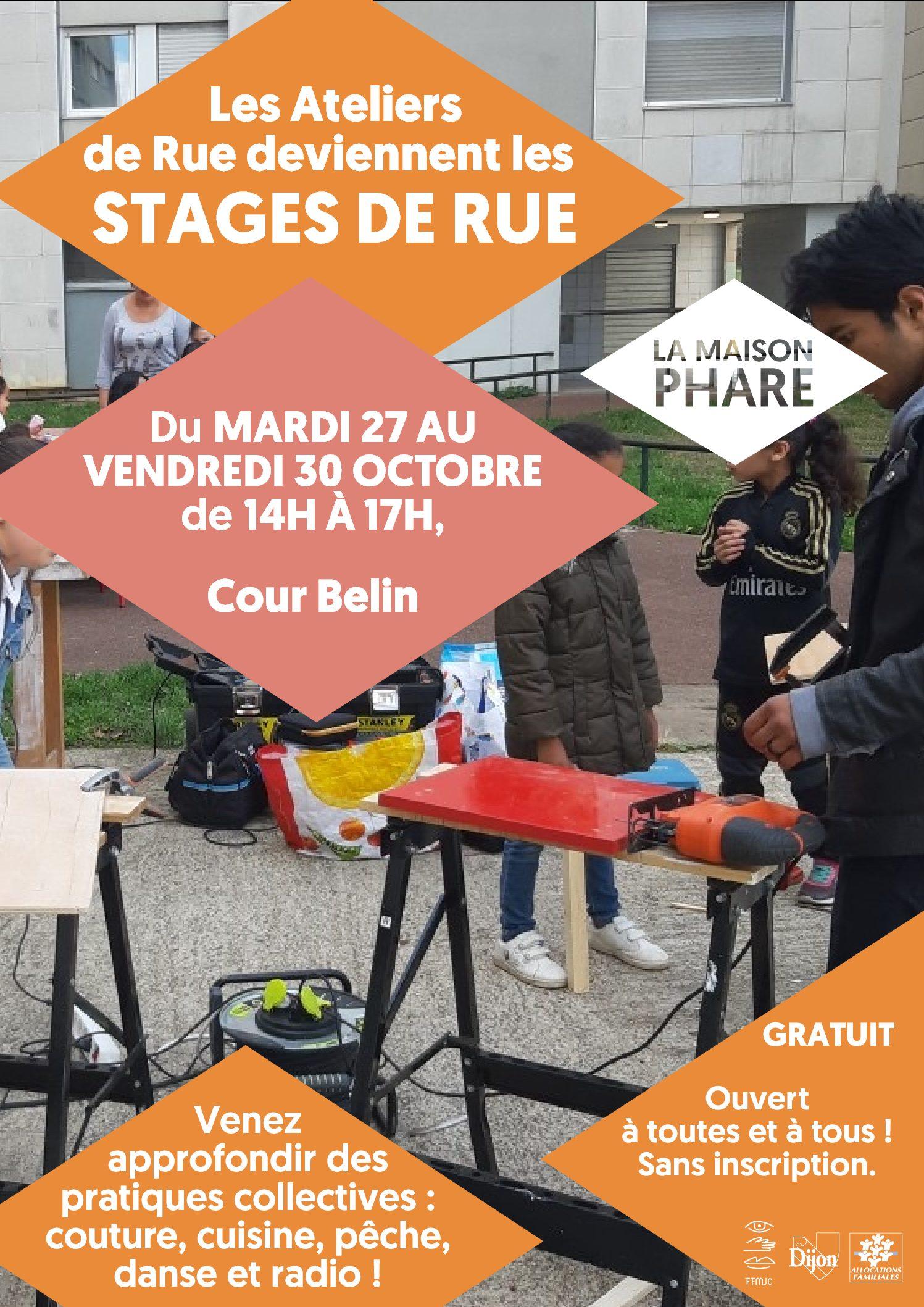 Stages de Rue