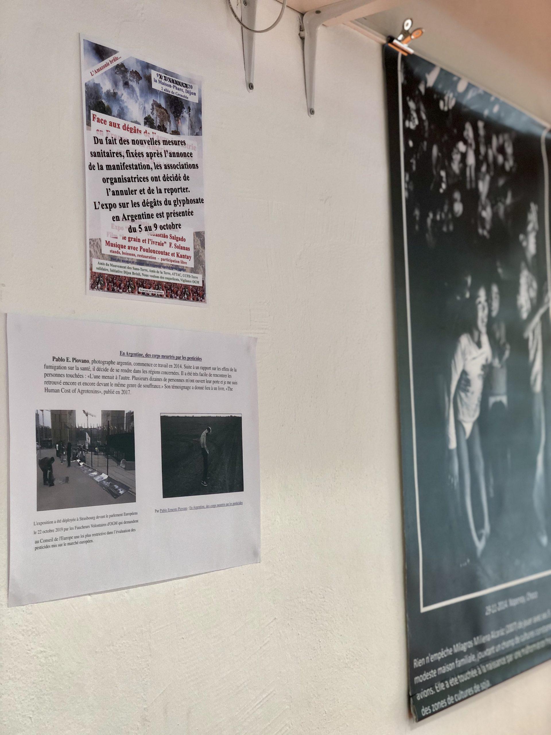 Exposition de Pablo Ernesto Piovano > En Argentine : des corps meurtris par les pesticides