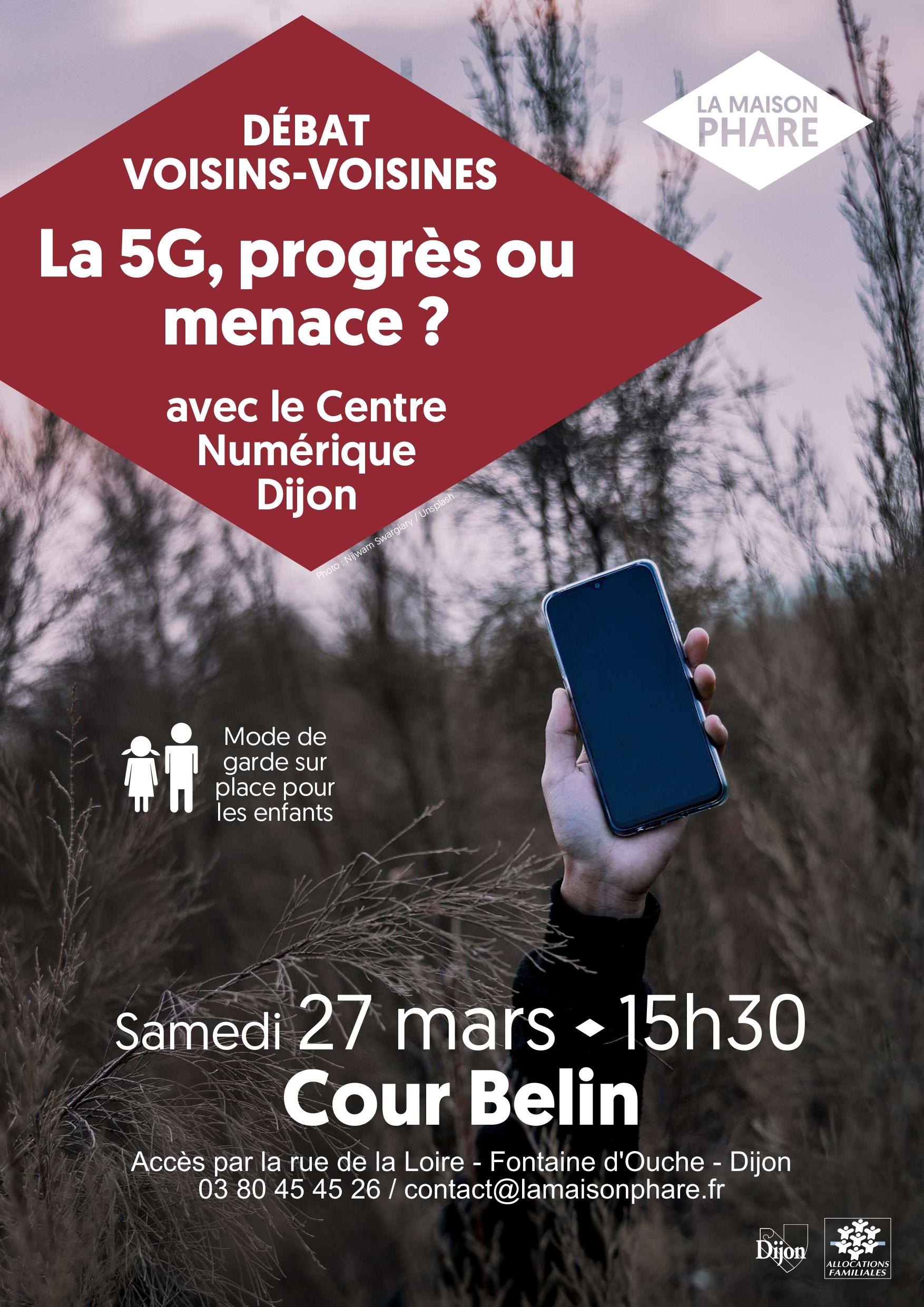 Débat Voisins-Voisines : la 5G, progrès ou menace ?