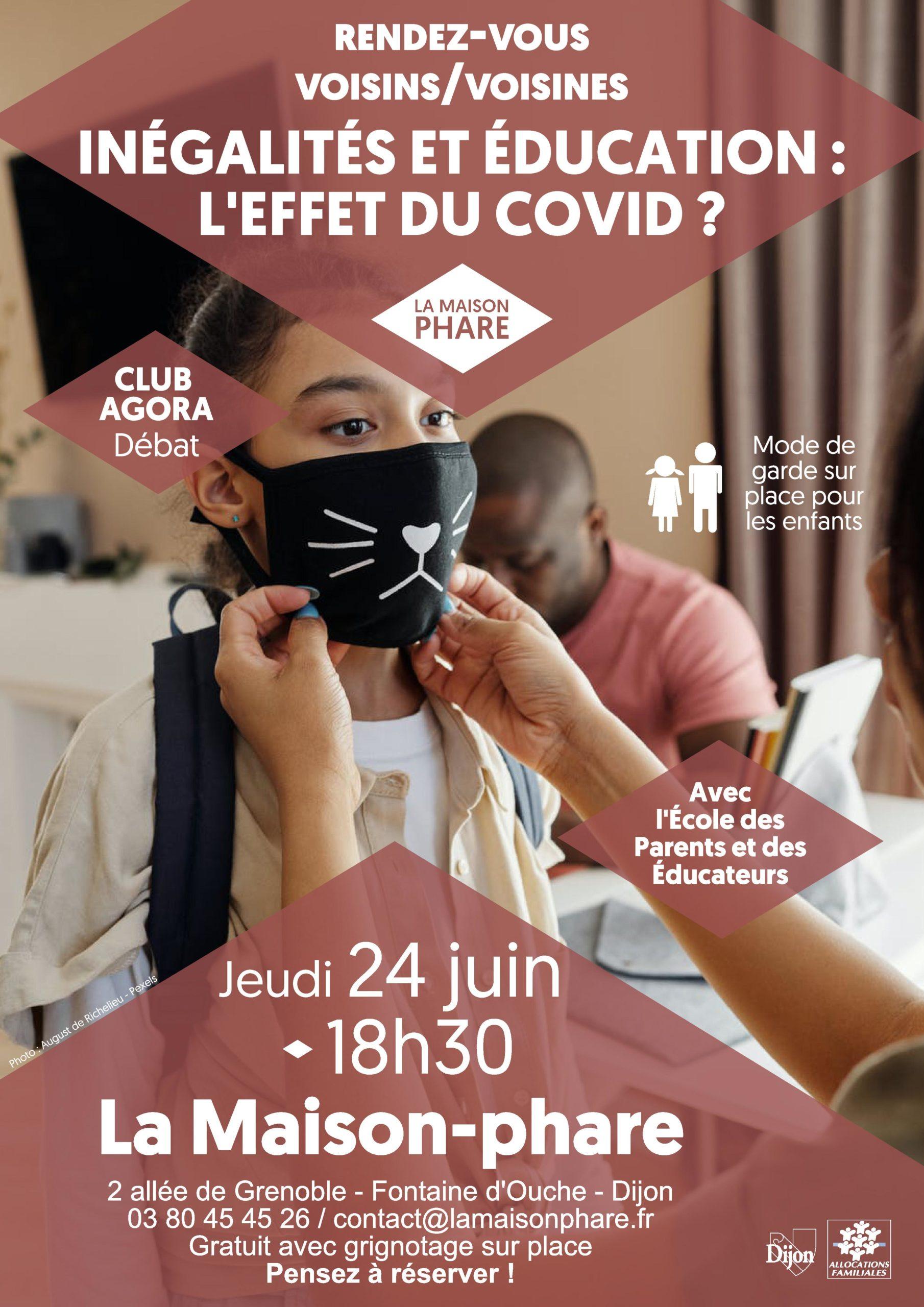 Rendez-vous Voisins-Voisines : inégalités et éducation, l'effet du COVID ?