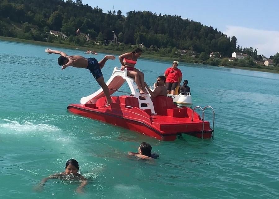 Sortie baignade : familles et jeunes