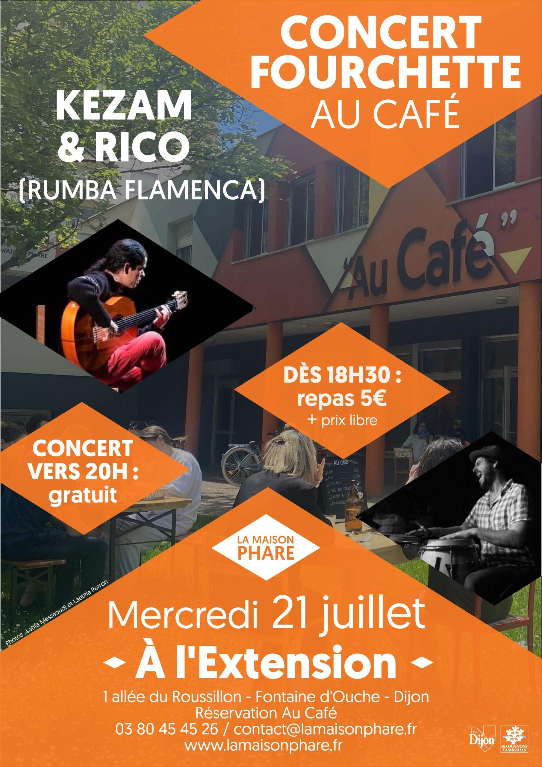 Concert-fourchette : Rico Mambo et Kezam