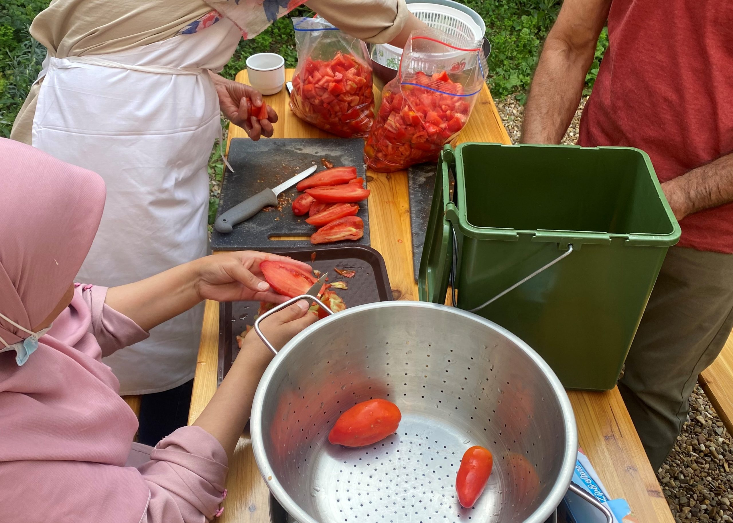 Atelier cuisine et repas collectif